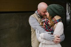 Koleby + Ryan   Boulder Snowy Winter Engagement   Meg Newton