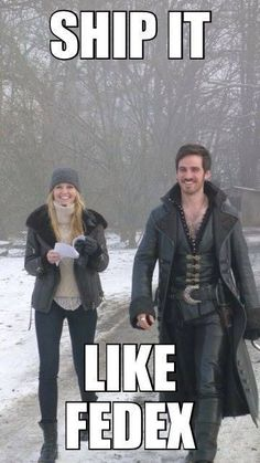 Like FedEx @Elizabeth Lockhart Lockhart Davoren Cuz we love the Emma & Hook