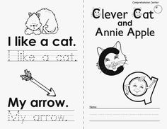 Teaching By the Sea Letterland resources for Clever Cat and Annie Apple.
