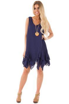 Lime Lush Boutique - Navy Ruffle Hem Fairy Dress, $42.99 (https://www.limelush.com/navy-ruffle-hem-fairy-dress/)