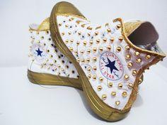 all star dourado   Tags: All Star Ouro, Spikes, Dourado, Tenis Spikes, Tachinhas