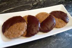 """Shortbread chocolat-coco les plus """"healthy"""" de la planète (vegan) à la farine complète, sure complet et huile de coco"""