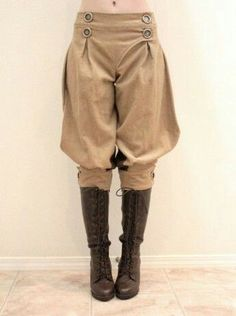 Most popular tags for this image include: pants, steampunk, fashion, clothing and jodhpur Steampunk Pants, Costume Steampunk, Mode Steampunk, Victorian Steampunk, Steampunk Clothing, Steampunk Couture, Victorian Women, Steampunk Necklace, Renaissance Clothing