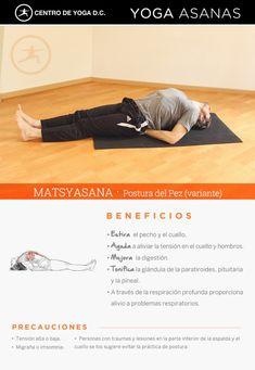MATSYASANA · Postura del Pez (variante) | Por Diego Cano