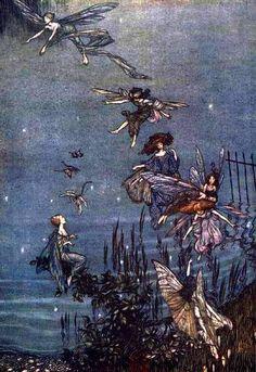 Juvenile - Water babies - Illustration - Fairy 1