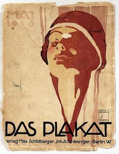Ludwig Hohlwein » The Poster (1913) by Susanlenox, via Flickr