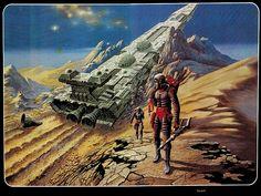 70s Sci-Fi Art: 11200: Die Grafiken im Silber-Band...