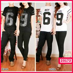 Kaos Couple Boy Girl 69 - Butik Pakaian