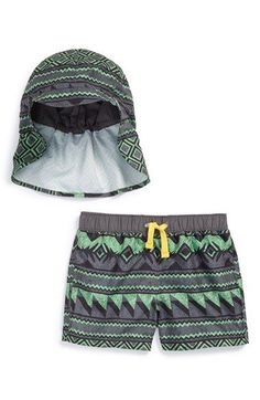 Tucker + Tate Hat & Swim Trunks (Baby Boys) available at #Nordstrom