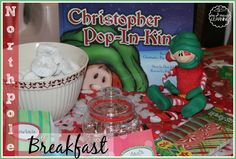 Family Christmas Traditions- Northpole Breakfast and more! family christmas, christma food, christma tradit, famili christma