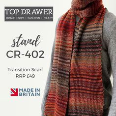 @TopDrawerLondon opens tomorrow! Our #knitted fashion #accessories will be there.  #london #designer #fashion #knitwear #scarves #menswear #womenswear #unisex #knitting #craftsmanship #madeingb