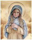 """The Holy Child Mary Catholic 8x10"""" Print Art Blessed Virgin Mary, Our Lady"""