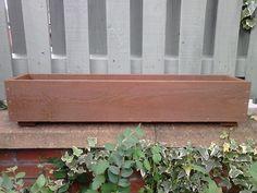 WOODEN FLOWER PLANTERS/WINDOW BOXES Wooden Garden Planters, Herb Planters, Flower Planters, Planter Boxes, Garden Pots, Balcony Flower Box, Flower Boxes, Hanging Flower Baskets, Garden Windows