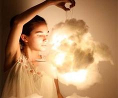 Make your room look heavenly with these DIY light up cloud lamps. With clear and easy to follow instructions, these ethereal cloud lamps will be a fun project for anyone to make over a weekend and are safe to use with paper and cotton casings which give it that fluffy look.