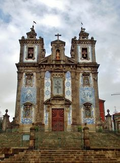 Free Image on Pixabay - Church, Porto, Portugal Portugal Travel Guide, Europe Travel Guide, Travel Guides, Travel Around The World, Around The Worlds, Best Places To Travel, Free Pictures, Where To Go, The Good Place