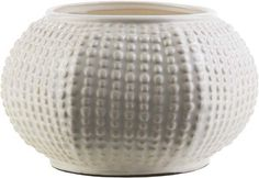 Clearwater Coastal Ivory, Light Gray Color Table Vase  medium