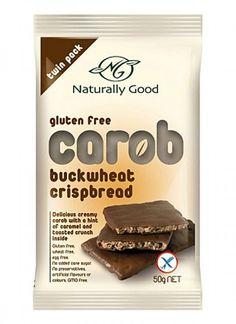 Naturally Good Bars Carob Buckwheat 2x25g Online Supermarket, Buckwheat, Cool Bars, Gluten Free, Diet, Food, Glutenfree, Essen, Sin Gluten