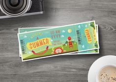 Ticket Template for only $6 | Designs.net Ticket Template, Create Yourself, Banner, Clip Art, Layout, How To Get, Ads, Templates, Vector Stock