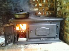The in's and out's of cooking on a Dover wood fired stove