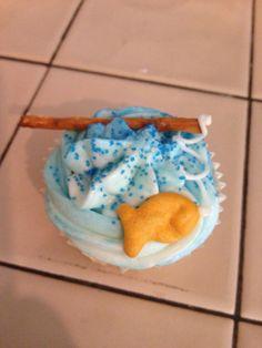 Fishin' cupcakes