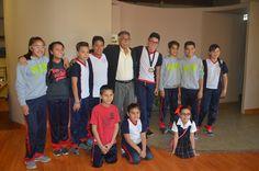 El día de hoy el Presidente David Martínez Garrido y la directora de Educación y Cultura, Diana González Retano, recibieron en las instalaciones del...