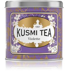 Violet - Black China tea with scent of violet from Kusmi Tea