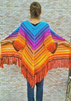 Fabulous Crochet a Little Black Crochet Dress Ideas. Georgeous Crochet a Little Black Crochet Dress Ideas. Crochet Bolero, Gilet Crochet, Crochet Coat, Crochet Shawls And Wraps, Crochet Jacket, Crochet Cardigan, Crochet Scarves, Crochet Clothes, Hand Crochet