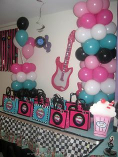 Fifties Sock Hop Party Ideas   50's Diner Sock Hop Party Part 1   50's/60's Rock n Roll party ideas