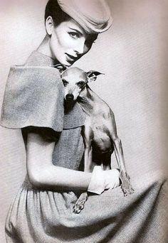Suzy Parker, photo by Richard Avedon, Harper's Bazaar March 1956