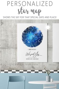 Your UNIQUE Sky Map by Date and Place - Personalised Wedding, Taurus Constellation, Rustic Frame, Diy Gifts To Sell, Diy Gifts For Mothers, Unique Gifts For Him, Dating Anniversary Gifts, My Moon And Stars, Constellation Map, Printable Star, Star Chart, Relationship Gifts