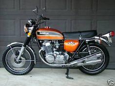 1975 Honda CBR 750cc Vintage Honda Motorcycles, Honda 750, Japanese Motorcycle, Cb750, Motor Scooters, Ford Mustang, Motorbikes, Old School, Cycling