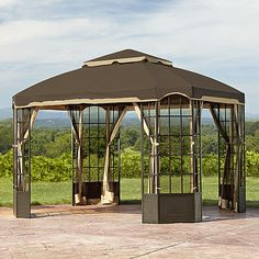 Essential Garden 10 ft x 10 ft Callaway Gazebo Limited