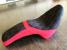 Another great motorcycle seat from our in-house trimmer! #feslerinterior