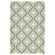 Kaleen Rugs Escape Geo Indoor/Outdoor Area Rug Light Brown 2'x3'