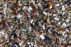 A garbage dump in Gdynia as seen from above (Kacper Kowalski)