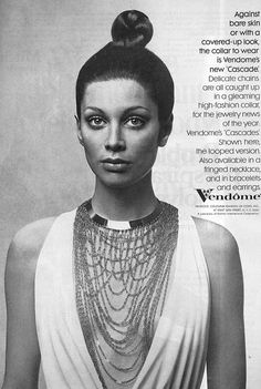Vendôme jewelry ad ''Cascades''