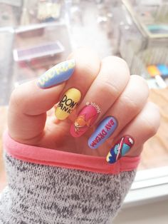 Heat Up Your Life with Some Stunning Summer Nail Art Korean Nail Art, Korean Nails, Love Nails, My Nails, Beauty Art, Nail Inspo, Nail Arts, Beautiful Tattoos, Hair And Nails