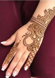 2019 Latest and Trendiest Mehndi Designs for Girls - ANI EXCLUSIVE
