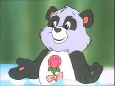 Polite panda a care bear cousin