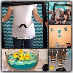 Little Man Baby Shower/Mustache Bash