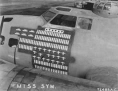 Pacific Theatre B-17E Mission Board