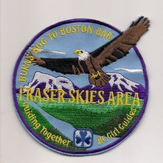 Girl Guides Canada Patch - FRASER SKIES AREA, BC PATCH