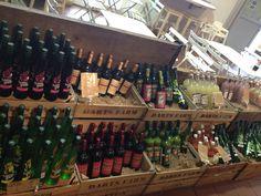 Wine display, #darts farm Brick Archway, Engine House, Wine Display, Red Bricks, Wooden Flooring, Wine Rack, Beams, Darts, Pos