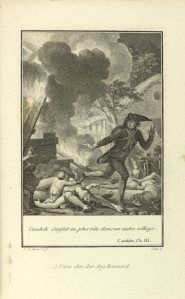 Voltaire – Candide, ilustrado por Jean Michel Moreau (1741-1814)