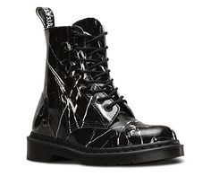 Pascal Marble Black off of Dr Martens official website. Inspired by the look of gothic tombstones. Also comes reversed, white with black marbling. Sweet...