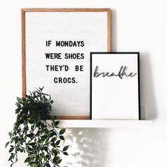 Crocs say it, Monday makes you say it: I give up. : @morethan_just