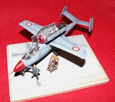 1/72 Dragon/Revell Heinkel He-162 in French Air Force by Thierry Jacques