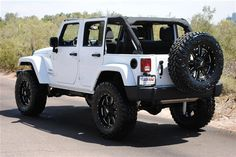 Jeep wrangler unlimited - This will be mine...except black, lifted and with tinted windows!!!