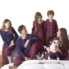 LTD: SESY Family Pajamas Matching Sets Red Plaid Loungewear Button Front Blouse & Trousers Holiday Suits Best Family Christmas Pajamas, Matching Christmas Pajamas, Matching Family Pajamas, Christmas Pjs, Holiday Pajamas, Matching Pjs, Christmas 2016, Christmas Photos, Matching Outfits