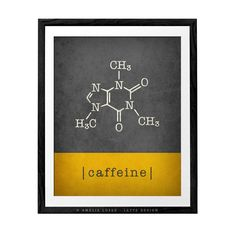Caffeine print coffee print kitchen art teal coffee poster caffeine molecule caffeine poster kitchen wall art coffee lover gift coffee gift Kitchen Poster, Kitchen Wall Art, Red Kitchen, Coffee Lover Gifts, Gift For Lover, Triangle Print, Presents For Him, Valentines Gifts For Him, Coffee Poster